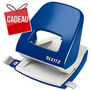 Perforatrice Leitz 5008, perforatrice de bureau, 30feuilles, bleu