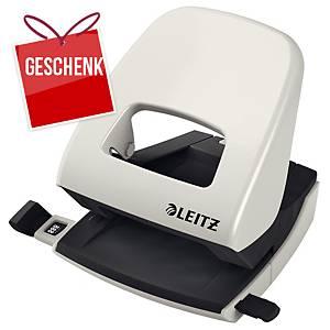 Locher Leitz 5008, Bürolocher, 30 Blatt, grau