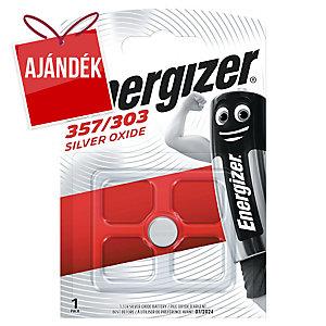 Energizer óraelem, 357/303, 1,5V, 1 db/csomag