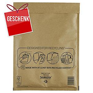 Luftpolster-Versandtaschen Sealed Air Mail Lite G/4,230x330mm,braun,Pk. à 50 Stk