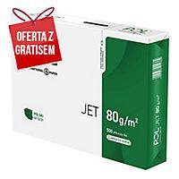 Papier POL Jet A4, 80 g/m², w opakowaniu 5 ryz po 500 arkuszy