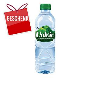 Volvic naturelle Mineralwasser ohne Kohlensäure 50 cl, Packung à 24 Flaschen