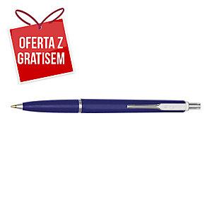 Automatyczny długopis ZENITH 7, granatowa obudowa, wkład niebieski