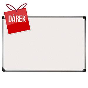 Bílá tabule Bi-Office Maya W Series - lakovaný magnetický povrch, 90 x 120 cm