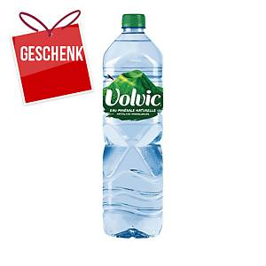 Volvic naturelle Mineralwasser ohne Kohlensäure 1,5 l, Packung à 6 Flaschen