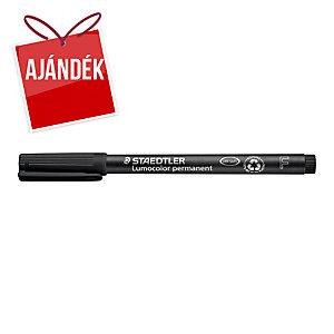 Staedler Lumocolor OHP permanens marker, vékony F, fekete