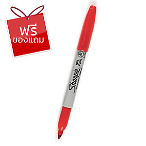 SHARPIE ปากกามาร์กเกอร์ F 1.0มม. แดง