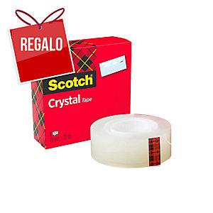 Cinta adhesiva Scotch Cristal Supertransparente Dimensiones: 19mm x 33m