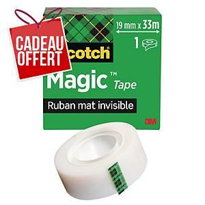 Ruban adhésif invisible Scotch Magic - 19 mm x 33 mm