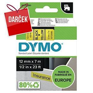 D1 páska Dymo čierno-žltá 12 mm x 7 m