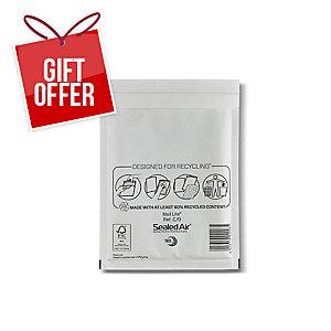 MAIL LITE WHITE POSTAL BAGS 150 X 210MM (6 X 8 1/4INCH) - BOX OF 100