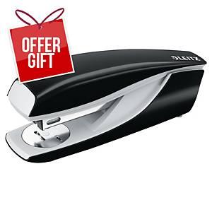 Leitz NeXXt Series 5502 Metal 30 Sheet Office Stapler Black