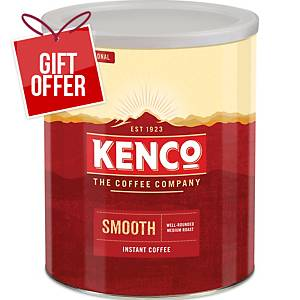 Kenco Smooth Instant Coffee Tin 750G