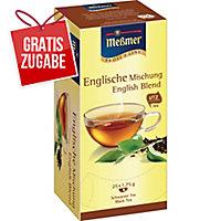 Tee Meßmer 586643 Englische Mischung, 25 Beutel a 1,75g