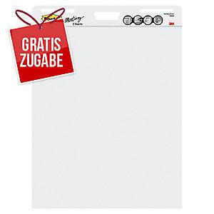 Flipchartblock Post-it Super Sticky MC559, 63,5x77,5cm, 2 Stück à 30 Blatt, weiß