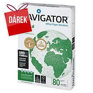 Kancelářský papír Navigator, A4, 80 g/m², bílý, 5 x 500 listů