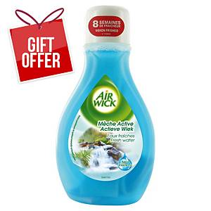AIRWICK MECHE ACTIVE 375ML FRESH WATER