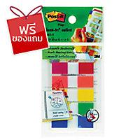 POST-IT แฟล็กซ์ 683-5CF 0.5   x 1.7   แดง,ส้ม,เหลือง,เขียว,น้ำเงิน 25แผ่น/สี