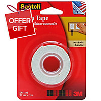 SCOTCH CAT110 DOUBLE-SIDED FOAM TAPE 21MM X 1M