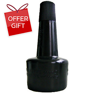 HORSE STAMP REFILL INK 28CC BLACK