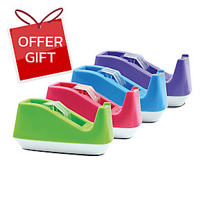 ORCA 15 TAPE DISPENSER FOR 1   CORE - ASSORTED COLOURS