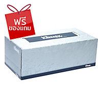 KLEENEX กระดาษเช็ดหน้า 2 ชั้น 19.8X21.6 เซนติเมตร170 แผ่น