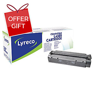 LYRECO COMPATIBLE 15A HP LASER TONER CARTRIDGE C7115A - BLACK