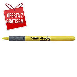 Zakreślacz BIC Highlighter Grip, żółty