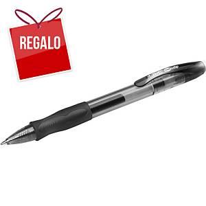 Bolígrafo retráctil de gel Bic Gelocity - negro