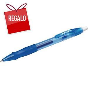 Bolígrafo retráctil de gel Bic Gelocity - azul