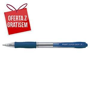 Automatyczny długopis PILOT Super Grip, niebieski