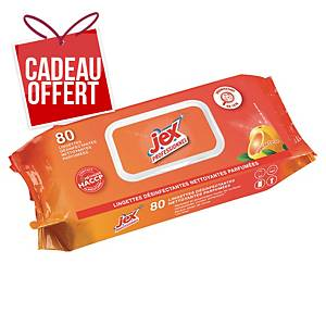 Lingette désinfectante Jex Professionnel - soleil de Corse - paquet de 80