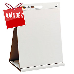 3M Post-it® 563 öntapadó flipchart tömbök állvánnyal, 58,4 x 50,8 cm