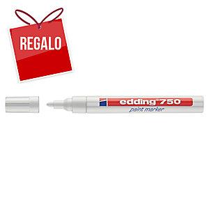 Marcador opaco EDDING 750 color blanco