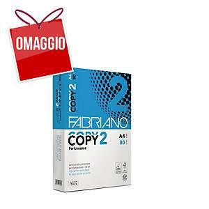 Carta bianca Fabriano Copy 2 A4 80 g/mq - risma 500 fogli