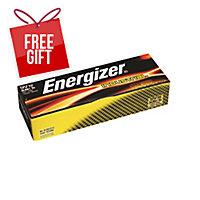 ENERGIZER INDUSTRIAL 9V BATTERY - PACK OF 12