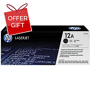 HP Q2612A ORIGINAL LASER CARTRIDGE BLACK