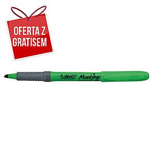 Zakreślacz BIC Highlighter Grip, zielony