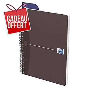 CAHIER OXFORD OFFICE   THE ESSENTIALS   A4 100 PAGES SEYES COUVERTURE PELLICULEE