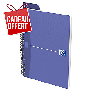 CAHIER OXFORD OFFICE   THE ESSENTIALS   A4 180 PAGES SEYES COUVERTURE PELLICULEE