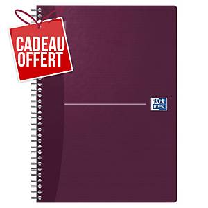 Cahier spirale Oxford Office The Essentials A4 - 180 pages - quadrillé