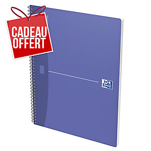 CAHIER OXFORD OFFICE   THE ESSENTIALS   A4 MAX 180 PAGES QUADRILLE 5 X 5 SPIRAL