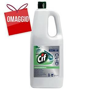 Detergente multiuso Cif Pro Formula gel con candeggina 2 L