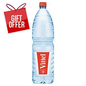 VITTEL NATURAL MINERAL WATER 1.5 LITRE - PACK OF 12