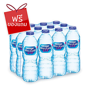 NESTLE น้ำดื่มเนสท์เล่เพียวไลฟ์0.6 ลิตรแพ็ค 12