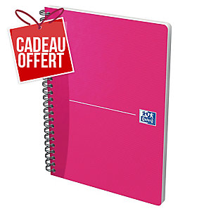CAHIER OXFORD OFFICE   THE ESSENTIALS   A5 90G 180 PAGES LIGNE 7 MM SPIRAL