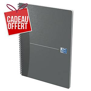 Cahier spirale Oxford Office The Essentials A4 - 180 pages - ligné