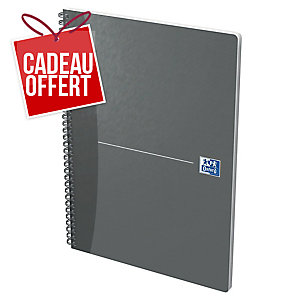 CAHIER OXFORD OFFICE   THE ESSENTIALS   A4 90G 180 PAGES LIGNE 7 MM SPIRAL