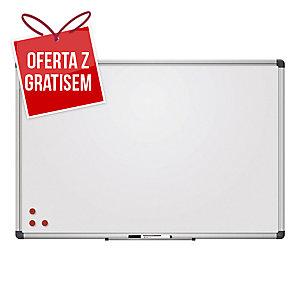 Tablica suchościeralna 2x3 z powierzchnią lakierowaną, 120 x 180 cm