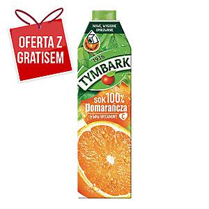 Sok pomarańczowy TYMBARK, karton 1 l
